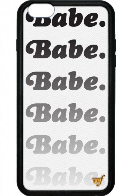 Babe iPhone 6 Plus case