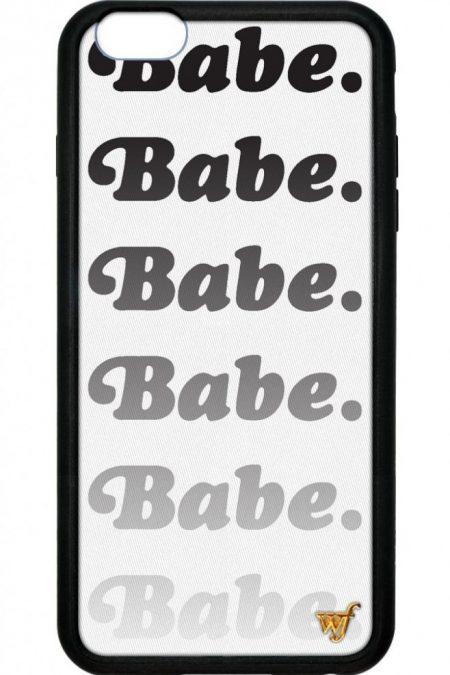Babe Wildflower iPhone 5/5s/SE Case