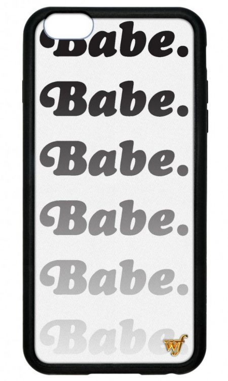 Babe Wildflower iPhone 5/5s/SE Case