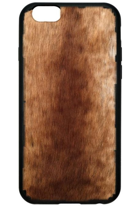 Foxy Brown Faux Fur iPhone 6/7 Plus case