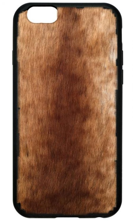 Foxy Brown Faux Fur iPhone 6/7 Plus case