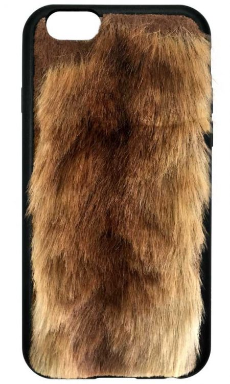 Foxy Brown Faux Fur iPhone 6/7 case
