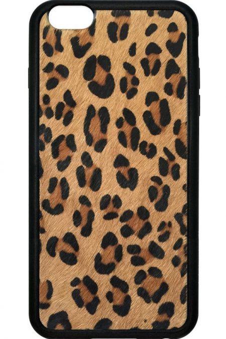Leopard Faux Pony Fur iPhone 6/7 Plus case