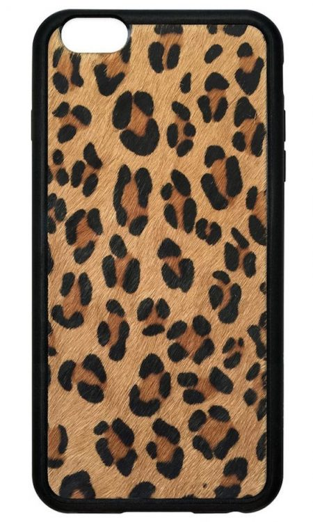 Leopard Faux Pony Fur iPhone 6/7 Plus case
