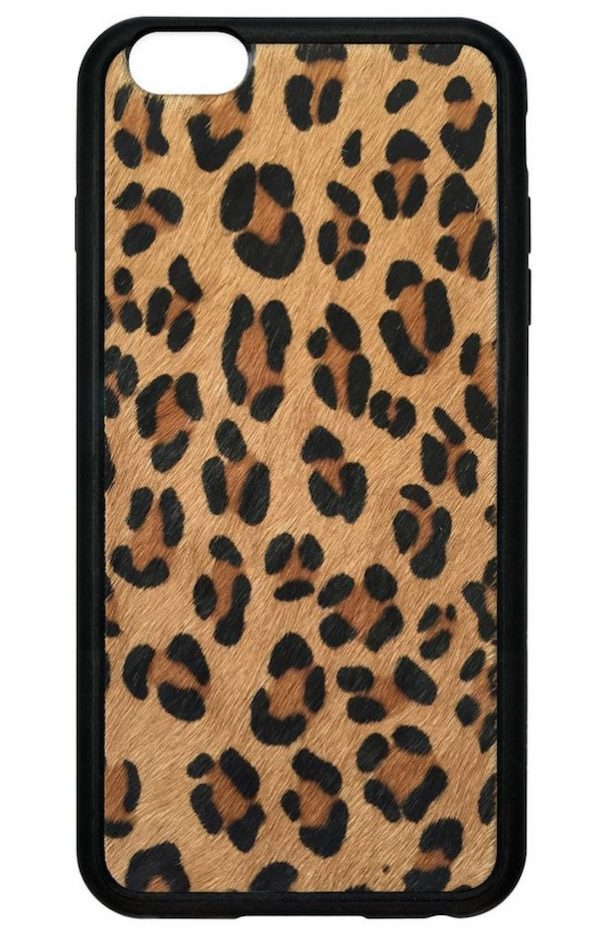 Lovely Leopard Faux Pony Hair iPhone 6/6s Case | Queen Jupiter SJ83