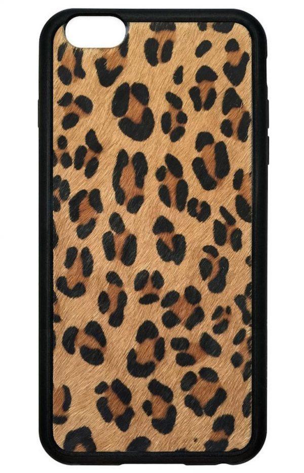 Lovely Leopard Faux Pony Hair iPhone 6/6s Case | Queen Jupiter SJ83