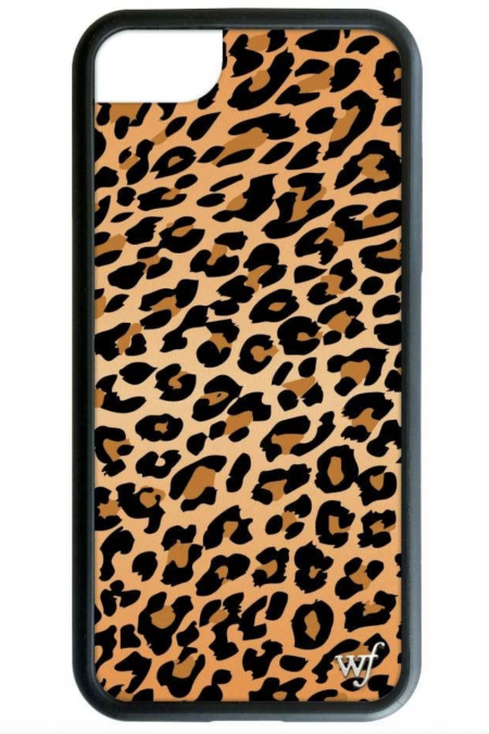 Leopard Faux Pony Hair iPhone 6/7 case