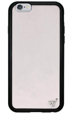 White Leather iPhone 6/7 Case