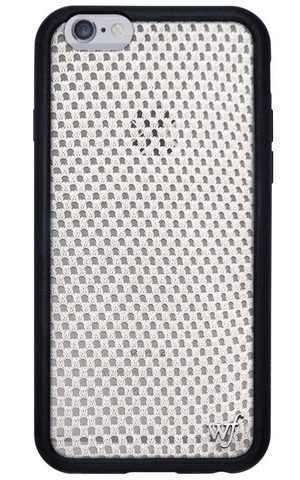 White Mesh iPhone 6/7 Case