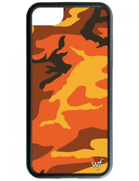 Orange Camo iPhone 6/7/8 Case
