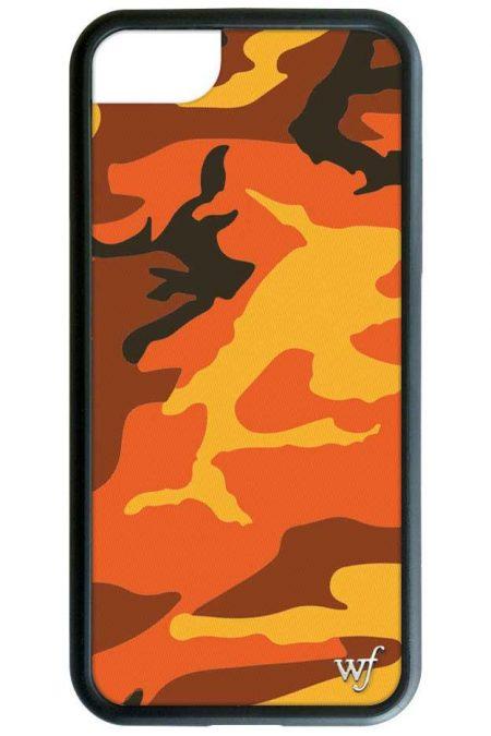 Orange Camo iPhone 6/7/8 Case