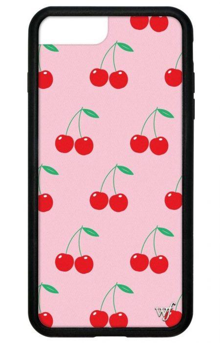 Pink Cherries iPhone 6/7/8 Plus case