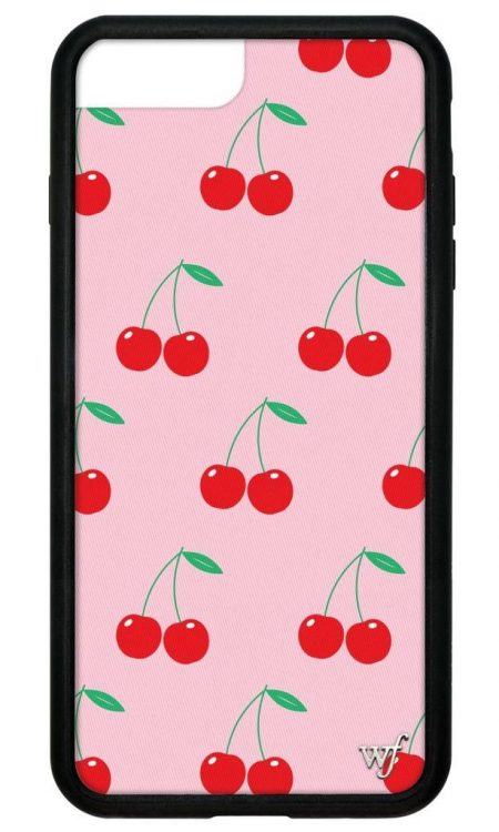 Pink Cherries iPhone 6/7/8 Plus case