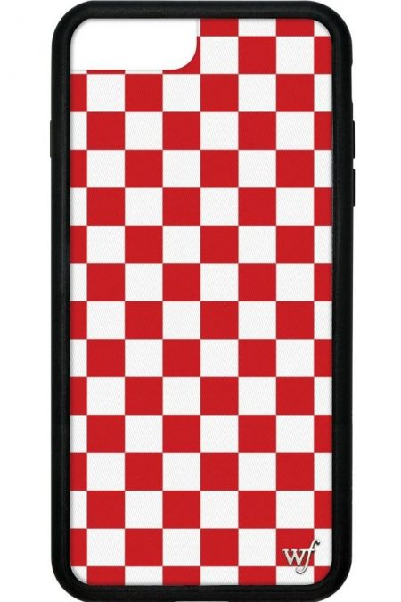 PRE-ORDER: Red Checkers iPhone 6/7/8 Plus Case