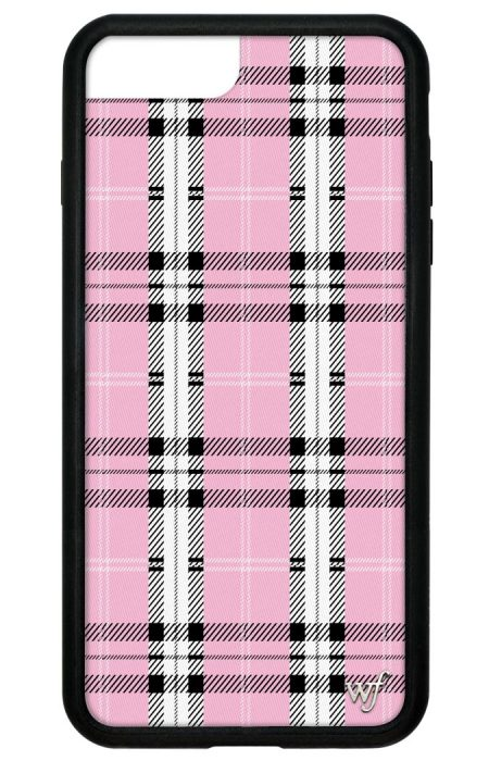 PRE-ORDER: Pink Plaid iPhone 6/7/8 Plus case