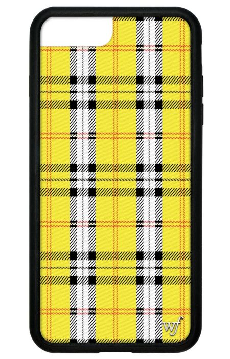 PRE-ORDER: Yellow Plaid iPhone 6/7/8 Plus case