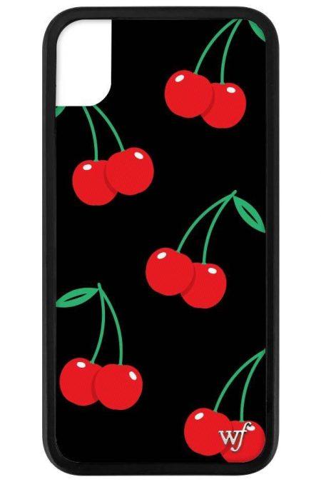 PRE-ORDER: Black Cherries iPhone XR case