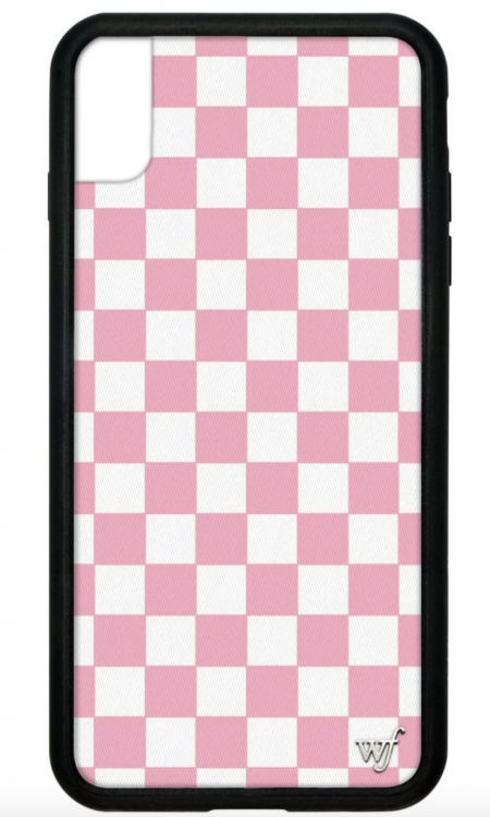 PRE-ORDER: Pink Checkers iPhone XR case