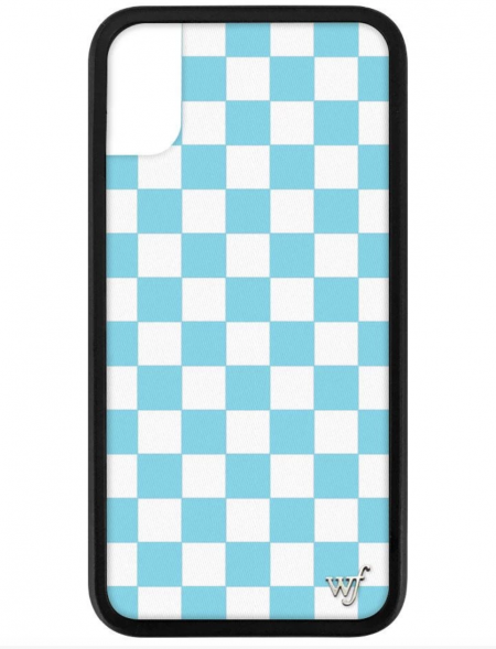 PRE-ORDER: Blue Checkers iPhone X/Xs case