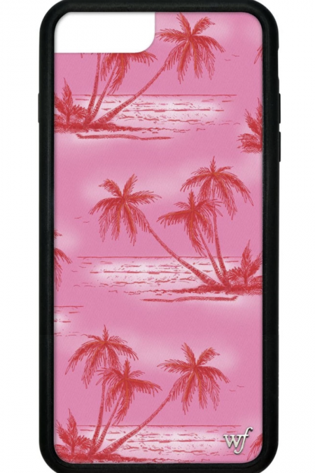 PRE-ORDER: Pink Palms iPhone 6/7/8 Plus case
