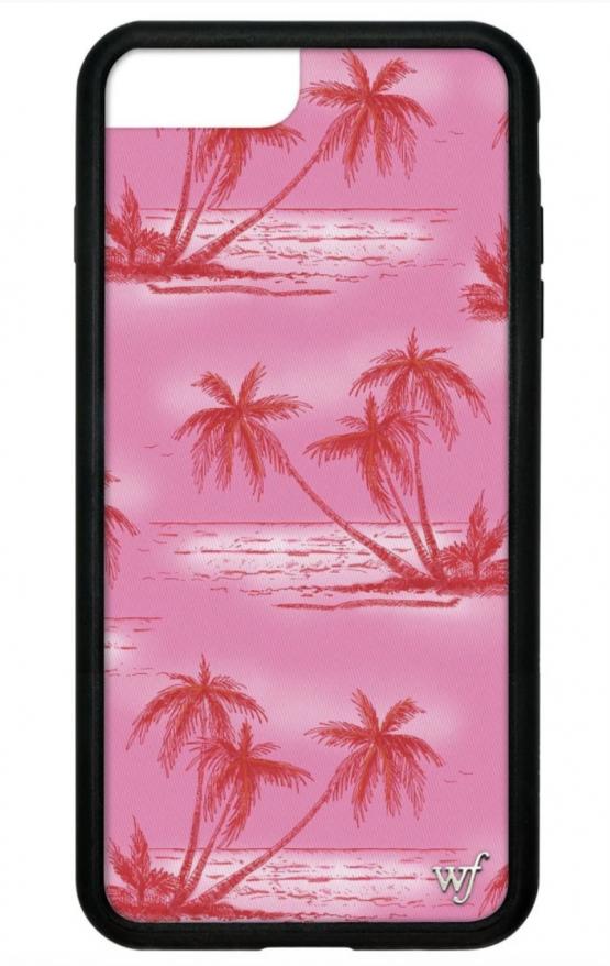 Pre Order Pink Palms Iphone 6 7 8 Plus Case Queen Jupiter