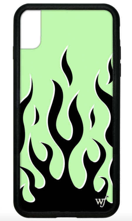 PRE-ORDER: Neon Flames iPhone XR case