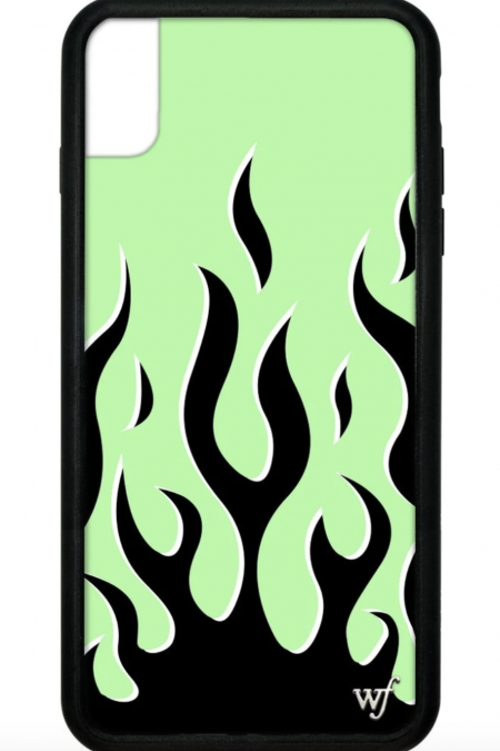 PRE-ORDER: Neon Flames iPhone XS Max case