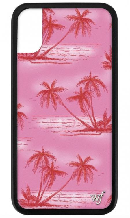 Pink Palms iPhone X/Xs case