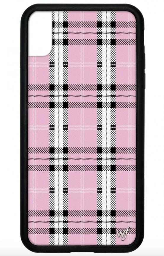 Pre Order Pink Plaid Iphone Xr Case Queen Jupiter