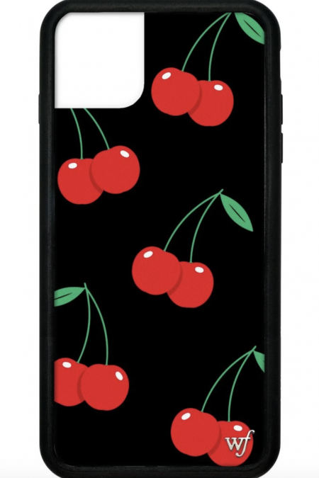 PRE-ORDER: Black Cherries iPhone 11 Pro Max Case