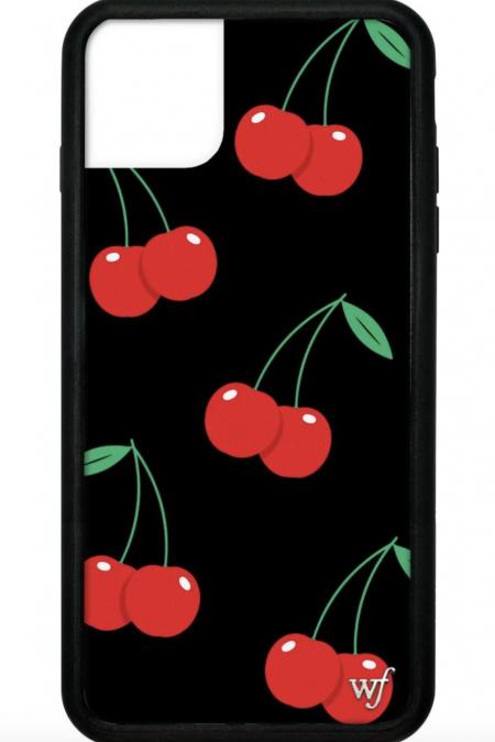 PRE-ORDER: Black Cherries iPhone 11 Pro Max Case