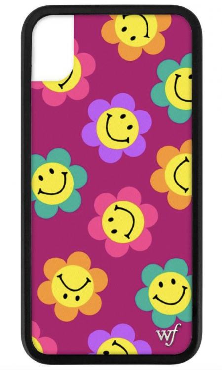 PRE-ORDER: Smiley Flowers iPhone X/XS case
