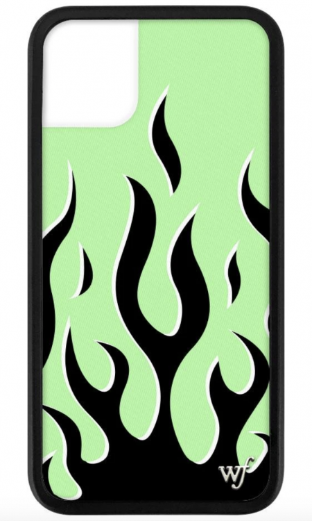 PRE-ORDER: Neon Flames iPhone 11 case