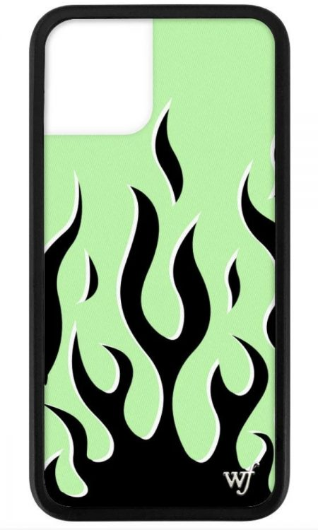 PRE-ORDER: Neon Flames iPhone 11 Pro case