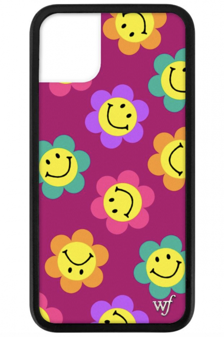 PRE-ORDER: Smiley Flowers iPhone 11 case