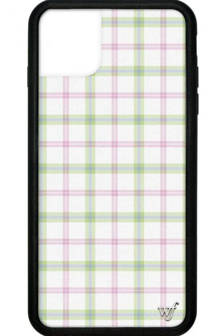 PRE-ORDER: Pastel Plaid iPhone 11 Pro Max Case